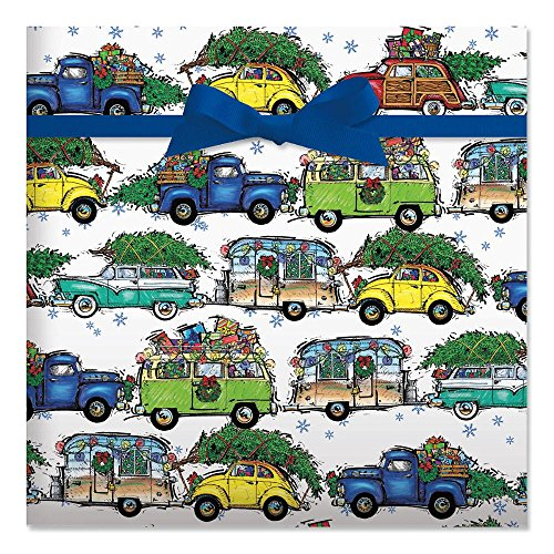 Christmas Vacation Gift Wrap for these Fun Camping Wrapping Paper And Creative Gift Wrap Ideas