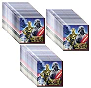 Star Wars Lunch/Dinner Napkins (48 Count) by Unknown