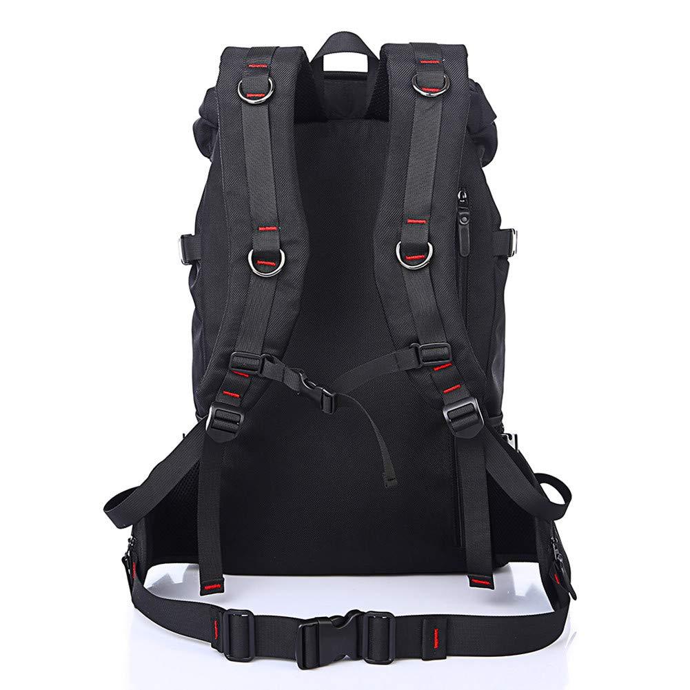 Trekkingrucksack Schwarz wandern mit gro/ßer kapazit/ät in der tasche oder rucksack mgb 50l sport  f/ür m/änner
