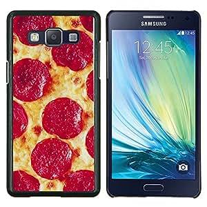 TECHCASE---Cubierta de la caja de protección para la piel dura ** Samsung Galaxy A5 ( A5000 ) 2014 Version ** --Salchichones italiana de Nueva York Food