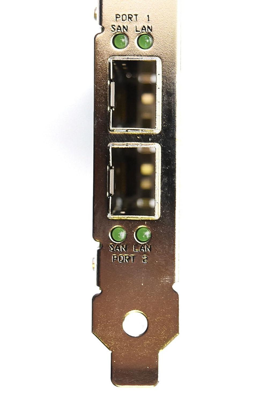 New 8MM6K Dell Compellent HBA Dual Port QLE8152 Converged Network