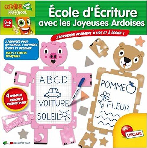 Lisciani-Lisciani-F49738-Apprendre À Lire À Écrire-Ecole D'écriture Les Joyeuses Ardoises, F49738