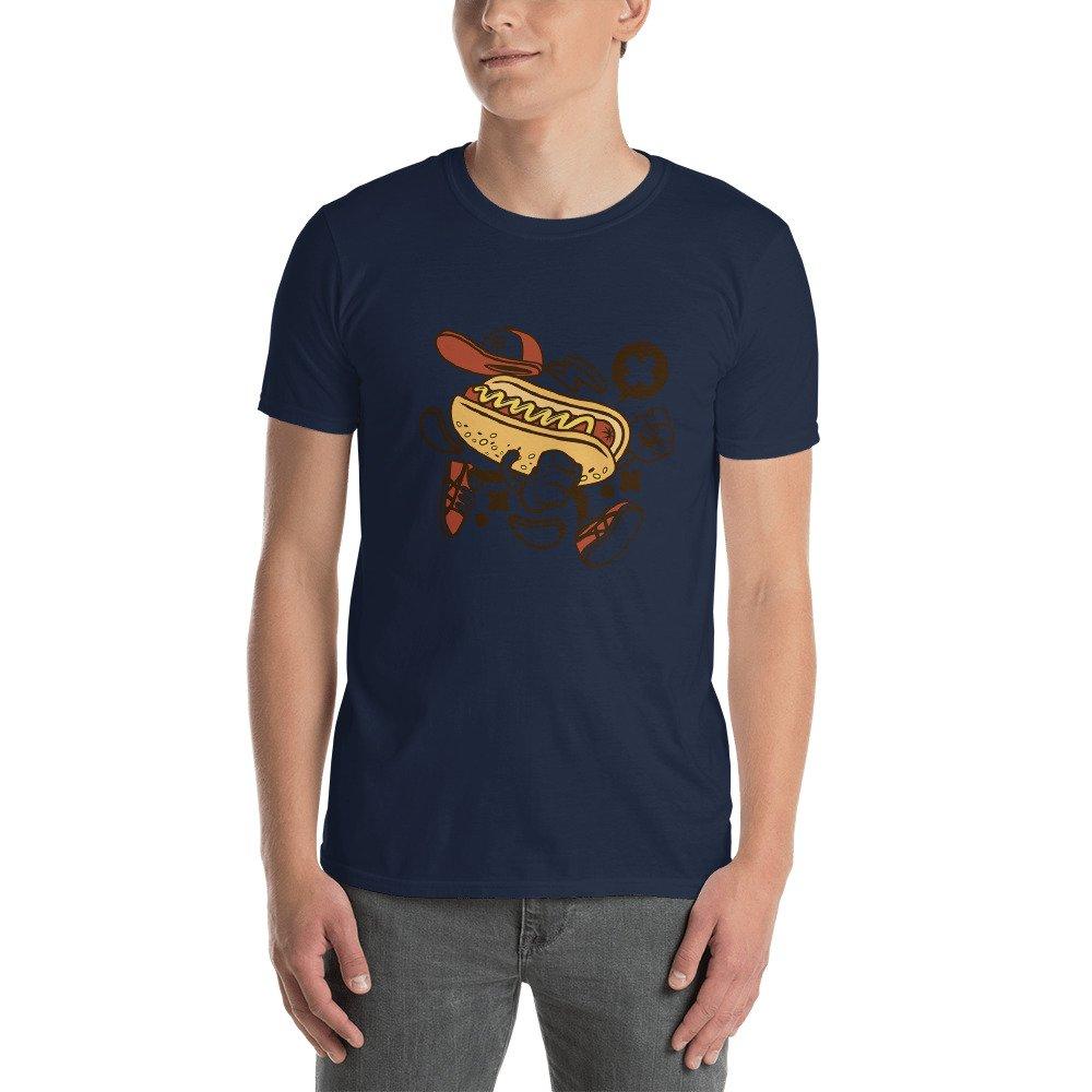 Hot Dog Short-Sleeve Unisex T-Shirt
