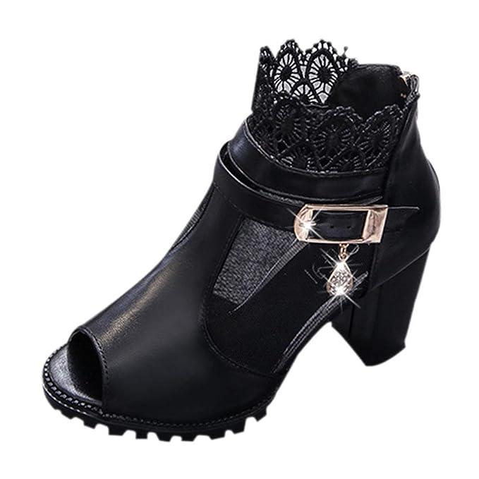 05c8ea839e06 DENER Women Ladies Girls Summer High Heels Sandals