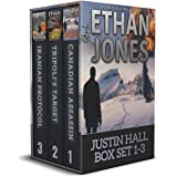 Justin Hall Spy Thriller Series Box Set Books 1-3: Action, Mystery, International Espionage and Suspense (Justin Hall Boxset