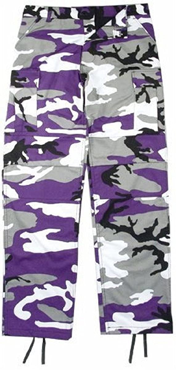 Amazon.com  Ultra Violet Camouflage BDU Pants  Clothing 31bc407a9