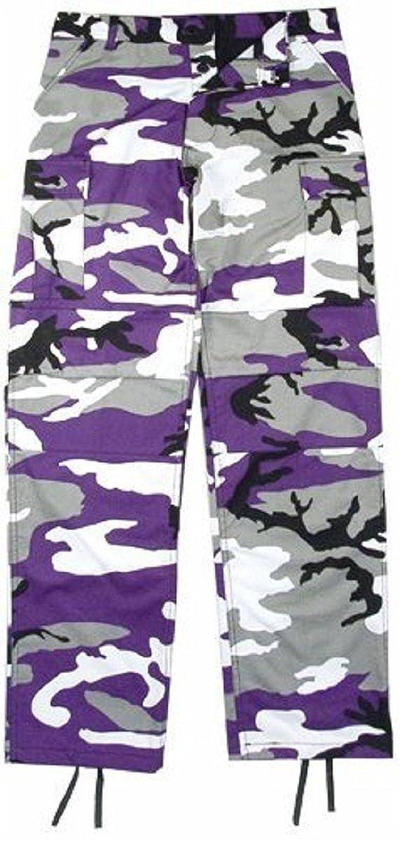 58c2738ea313f9 Amazon.com: Ultra Violet Camouflage BDU Pants: Clothing