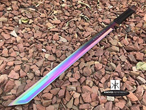 Knives Remembered Monogram Sword, Custom Sword, Ninja Sword, Hunting Machete, Personalized Sword, Engraved Swords, Ninja Machete ()