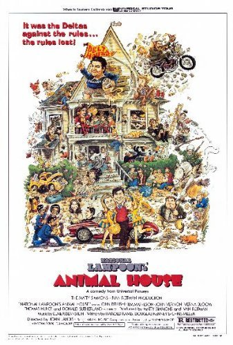 Animal House Movie Poster   Style A - by MG Poster