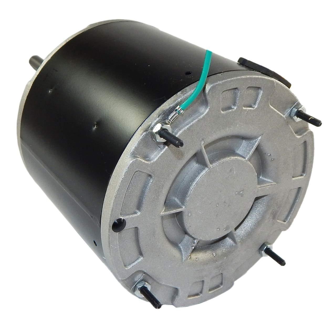 1/6 hp 825 RPM 48 Frame 208-230V 5 5/8'' Diameter Condenser Fan Motor # EM3403