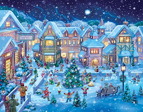 (Holiday Village Square Advent Calendar (Countdown to Christmas))