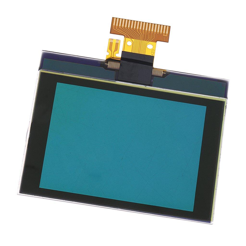 Perfk ガラス製 高品質 LCDディスプレイ スクリーン 液晶ディスプレイ クラスタピクセル修復 VW Sagitarゴルフ6適用 B07BVT98FN