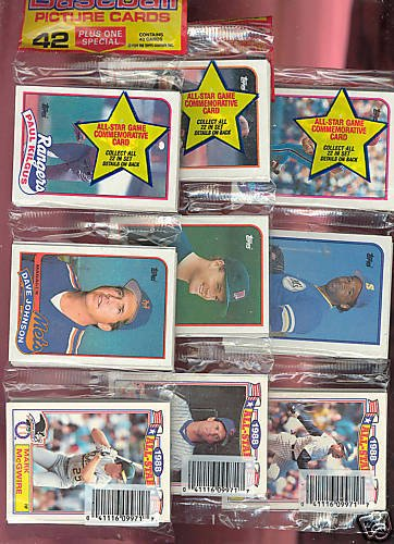 1989 Fleer Baseball Rack - 4