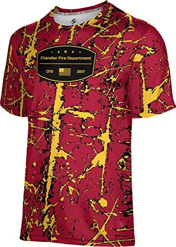 ProSphere Boys' Chandler Fire Department Distressed Shirt (Apparel) - Az Chandler Shopping