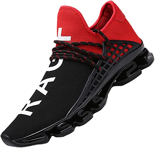 CAGAYA Herren Laufschuhe Sneaker Mesh Atmungsaktive Sport Gymnastikschuhe Herren Schuhe größe 36 48