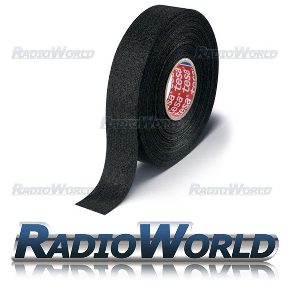 tesa 15mm 25m roll adhesive wiring harness loom tape amazon co uk tesa 19mm 25m roll adhesive wiring harness loom tape