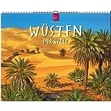 WÜSTEN der Welt: Original Stürtz-Kalender 2018 - Großformat-Kalender 60 x 48 cm