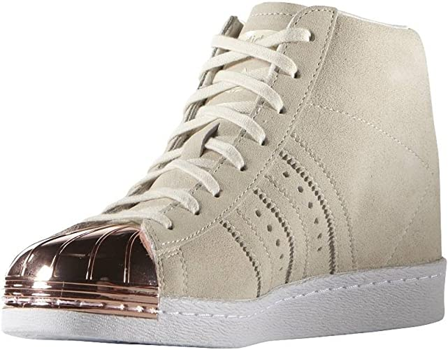 tablero Destrucción declarar  adidas Superstar Up Metal Toe Shoes White Size: 3.5: Amazon.co.uk: Shoes &  Bags