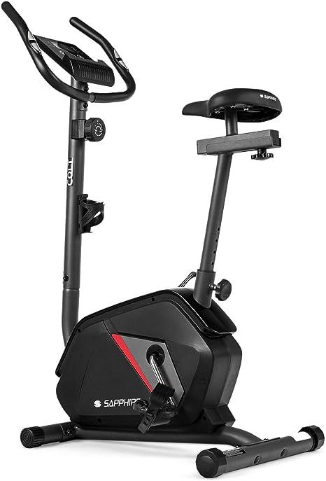 Indoor Hometrainer Heimtrainer mit Monitor Schwungrad Trimmrad Fitness Fahrrad