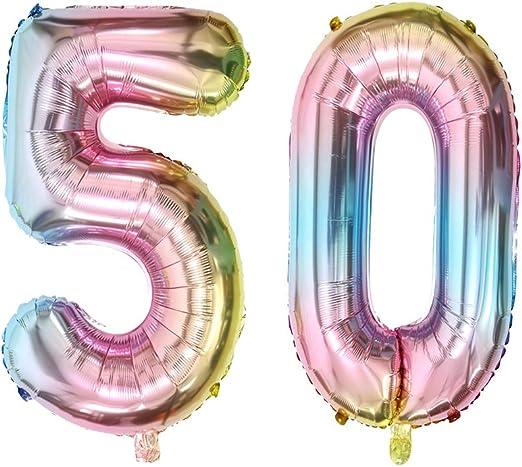 Amazon.com: Globos de Mylar con el número 30 para decoración ...