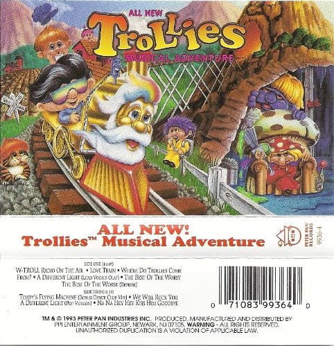 Price comparison product image Trollies Musical Adventure [CASSETTE]