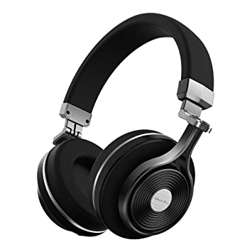 7c56894a49f Bluedio T3 (Turbine 3rd) Extra Bass Wireless Bluetooth 4.1 Stereo Headphones  (Black)