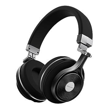 c0e1634b43b Bluedio T3 (Turbine 3rd) Auriculares Bluetooth de Diadema Cascos  inalámbricos Plegables con microfono Efecto 3D Estereo (Negro): Amazon.es:  Electrónica