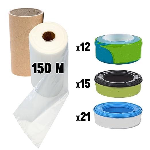 41 opinioni per Ricarica mangiapannolini compatibile ricariche Sangenic Litter Locker II