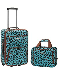 2 PC BLUELEOPARD LUGGAGE SET