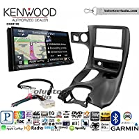 Volunteer Audio Kenwood DNX874S Double Din Radio Install Kit with GPS Navigation Apple CarPlay Android Auto Fits 1997-2004 Corvette