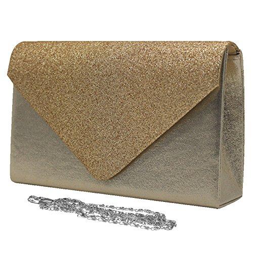 Sparkle Bag Women Clutch Evening Ladies Prom Gold Glitter Cckuu Apricot Bridal Wedding Handbag qHxFBZ5xvw
