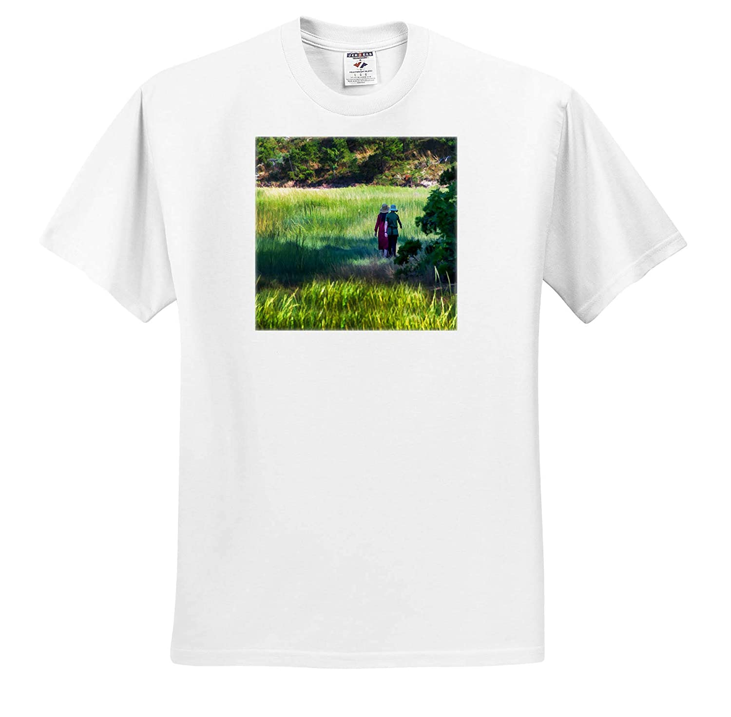 Ladies Day Walk 3dRose Roni Chastain Photography T-Shirts