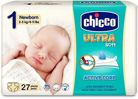 Chicco Chicco Ultra Soft - Pack 27 pañales ultra absorbentes ...