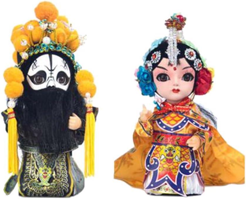 Amazon.es: Blancho Bedding Belleza y Belleza Artesanía China Pekín Opera Muñecas Decoración: Juguetes y juegos