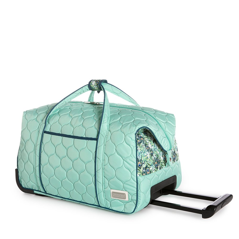 cinda b. Carry-on Rolly, Purely Peacock