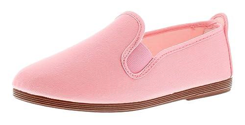 Flossy Arnedo Niño Niña Zapatillas De Lona Rosa - Rosa - GB Tallas 1-13 - Rosa, 29 EU: Amazon.es: Zapatos y complementos