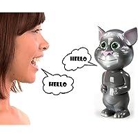 Talking Tom Cat Konuşan Kedi Tom Ses Taklit Eden Taklitçi Oyuncak Kedi Eğlenceli Pilli Çocuk Oyuncak