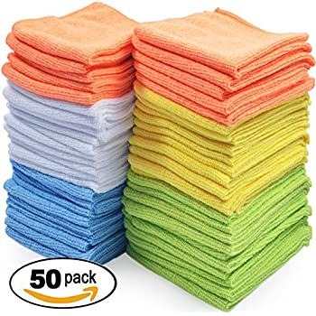 Amazon Com Best Microfiber Cleaning Cloth Pack Of 50
