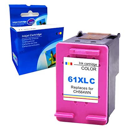 Ksera Remanufactured for HP 61 XL HP61 Color High Yield Ink Cartridge  1-Pack (1 Tri-Color) CH564WN for HP Envy 4500/5530/5534/5535 HP Deskjet