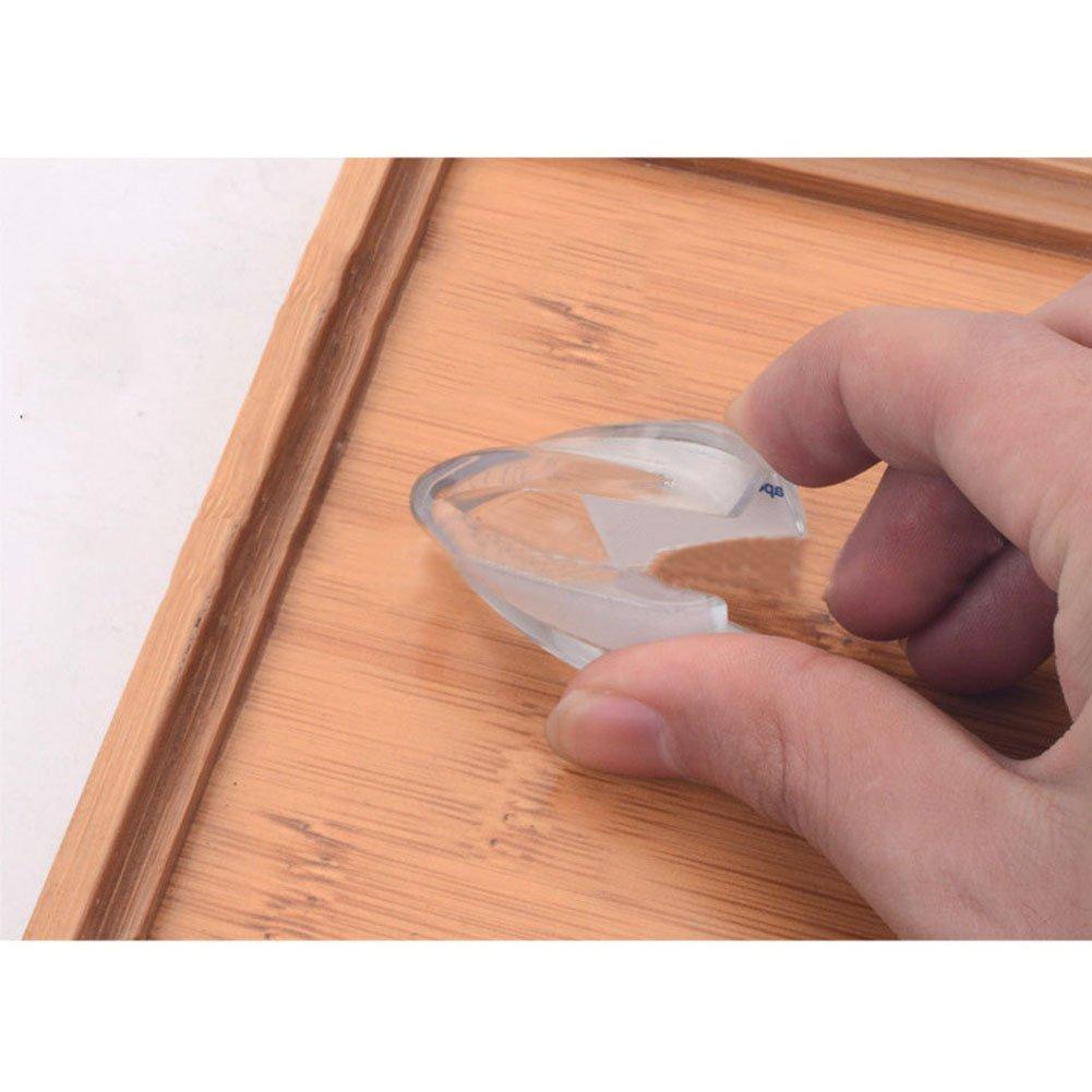 10pcs und M/öbel-Ecken Sto/ßschutz f/ür Baby und Kinder Boodtag Kantenschutz Eckenschutz 10 PCS Glastisch L-f/örmige Sicherheitsecken Transparent f/ür Tisch