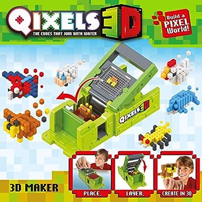 Qixels S3 3D Maker: Toys & Games