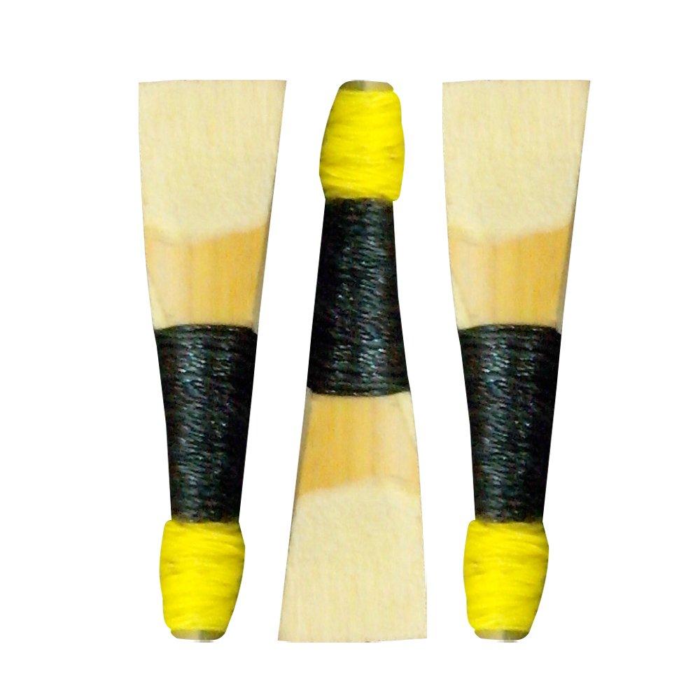 Bagpipe Chanter Reeds 3 Pcs Black AAR