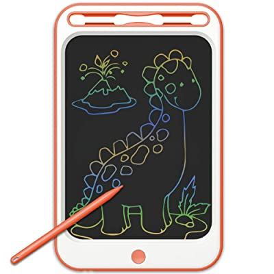 JONZOO Kids Writing Drawing Tablets Colorful Doodle Boards, 12 Inch LCD Writing Tablets Electronic Drawing Pads with Screen Lock and Pen, Gifts for Kids Adults at Home School Office: Computers & Accessories