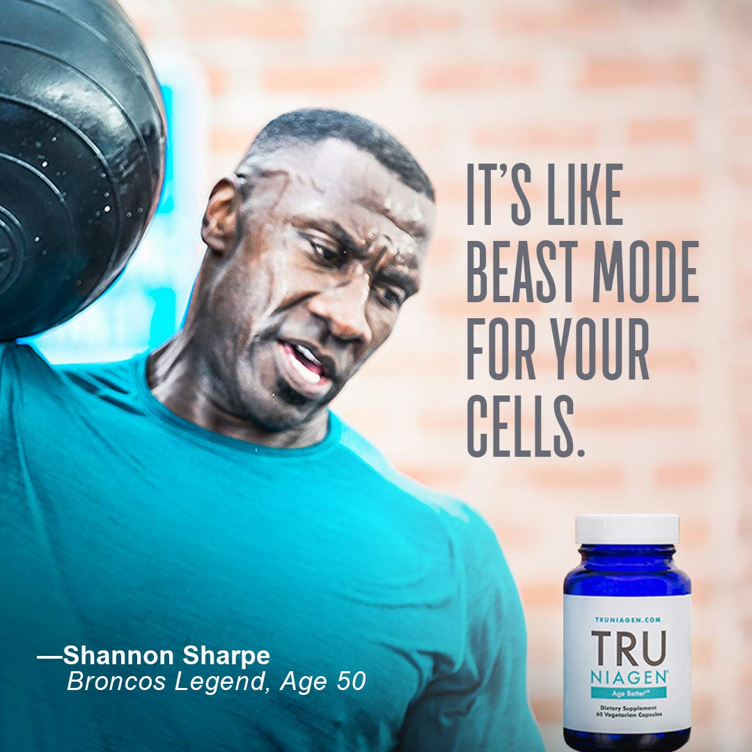 TRU NIAGEN - Increased 300mg   Nicotinamide Riboside NR   Advanced NAD+ Booster for Next-Level Cellular Repair & Increased Energy   Vitamin B3 by TRU NIAGEN (Image #4)