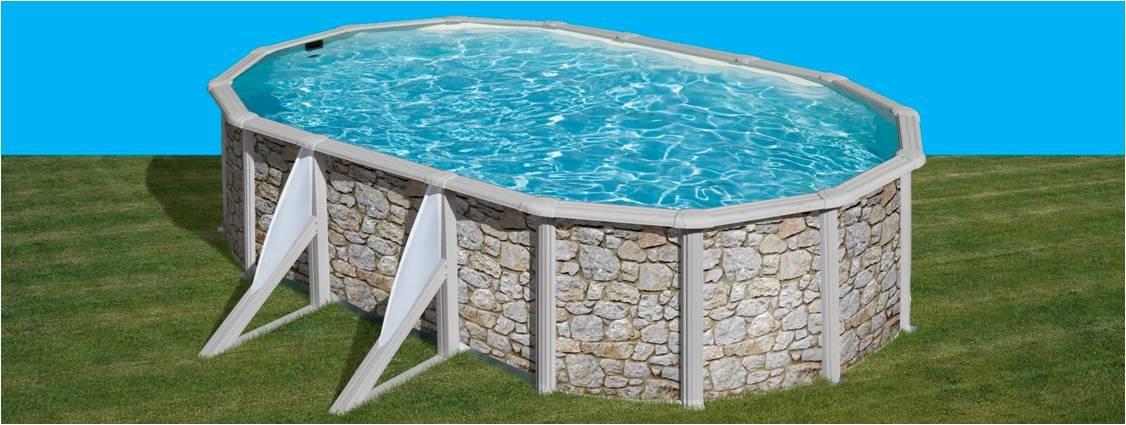 San Marina Pools - Piscina De Chapa Iraklion 500 X 300 X 120 Cm + ...