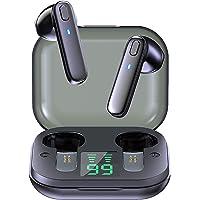 Fones de ouvido Yuanbbo R20 Original sem fio,Fones de ouvido estéreo TWS com tela LED inteligente, microfone integrado…