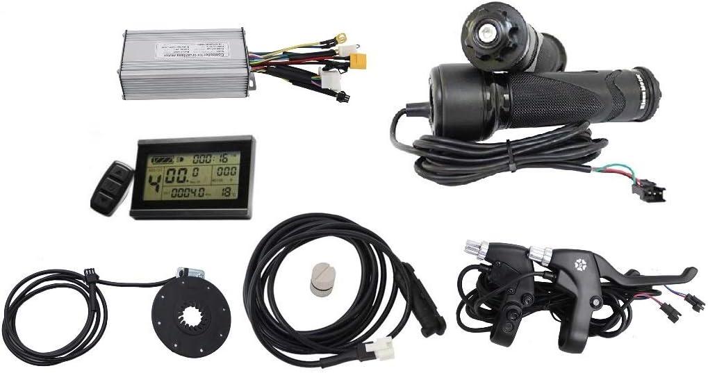 Hallomotor 36V//48V 1000W Brushless DC Controller+LCD3 Panel+Ebike Twist Throttle