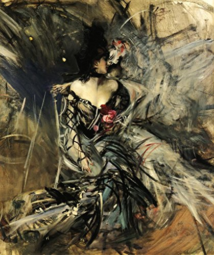 (Spanish Dancer at the Moulin Rouge by Giovanni Boldini - 20