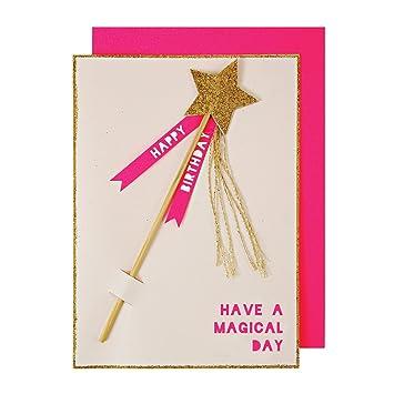 Amazon Meri Meri Magic Wand Birthday Card Health Personal Care