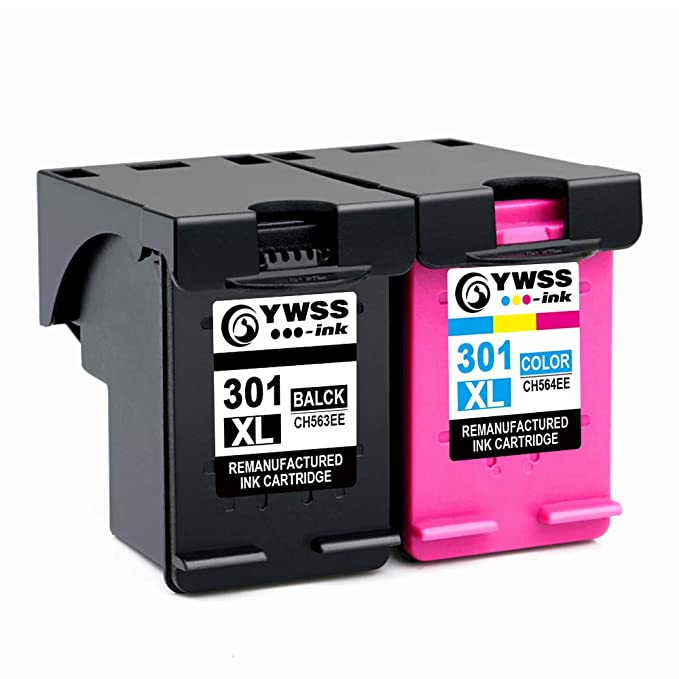 YWSS Remanufacturado Cartucho de Tinta para HP 301 XL HP 301 Alto ...